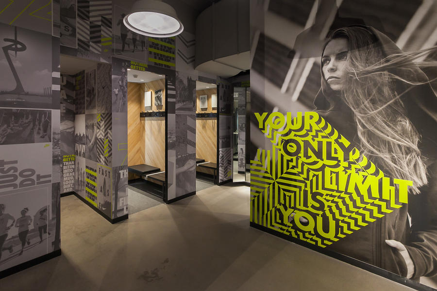 Nike PDG Fitting Rooms
